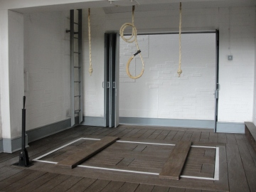 Their final destination: The standard British gallows, never to be used again.