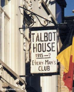 Talbot House Sign, Poperinge