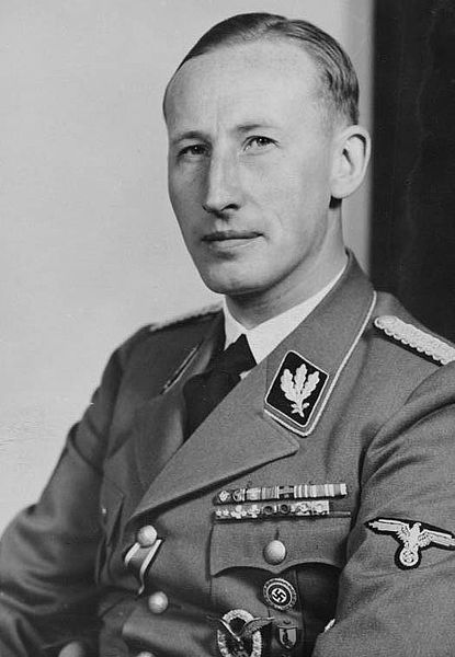 Reinhard Heydrich, known to many as 'Hangman Heydrich' or 'The Butcher of Prague.'