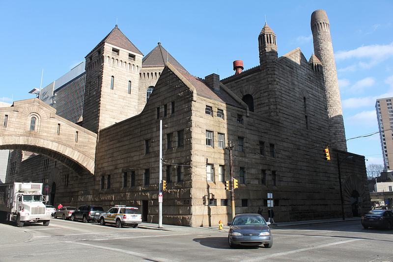 Allegheny County Jail. Jawarski escaped while under sentence of death.