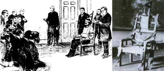William Kemmler and the first electric chair.
