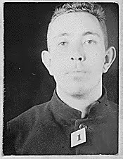Frank Bolt, Inmate Number AZ1. On Alcatraz for sodomy.