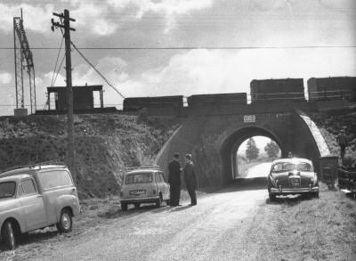 Bridego Bridge just after the robbery.