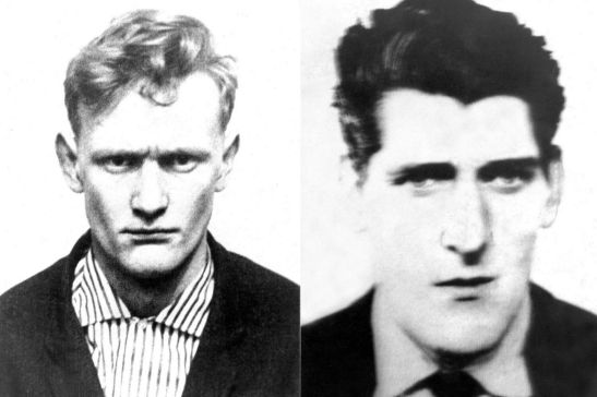 Peter Allen and Gwynne Evans, the last British inmates to hang.