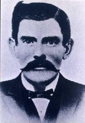 John 'Doc' Holliday, AKA 'The Deadly Dentist.'
