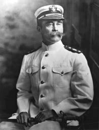 Admiral Peary, leader of the 1908 Polar expedition.