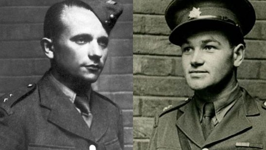 Josef Gabcik and Jan Kubis, Heydrich's assassins.