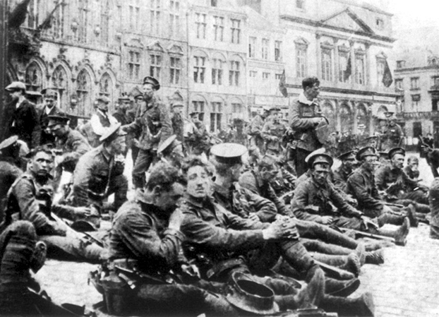 When did WWI begin?