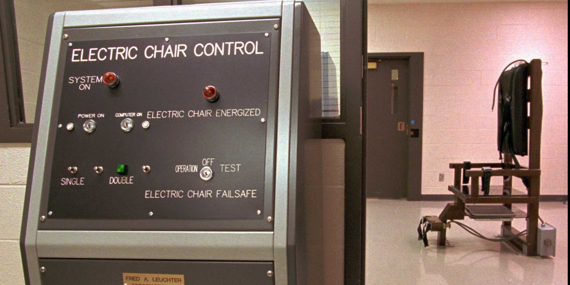 The electric chair execution - Tennessee S Electric Chair At The Riverbend Maximum Security Institution
