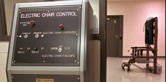 Tennessee's electric chair at the Riverbend Maximum Security Institution