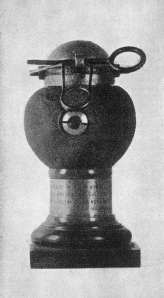 A 4-pound 'Cipelli' anti-personnel bomb. Not much, but enough for the first air raid.