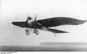 The Rumpler-Taube, history's first bomber.