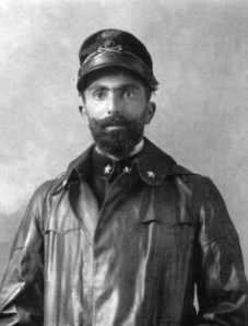 Giulio Gavotti, history's first bomber pilot.
