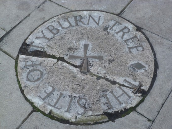 Site of Tyburn Tree