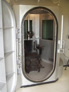 The then-new gas chamber at Parchman.