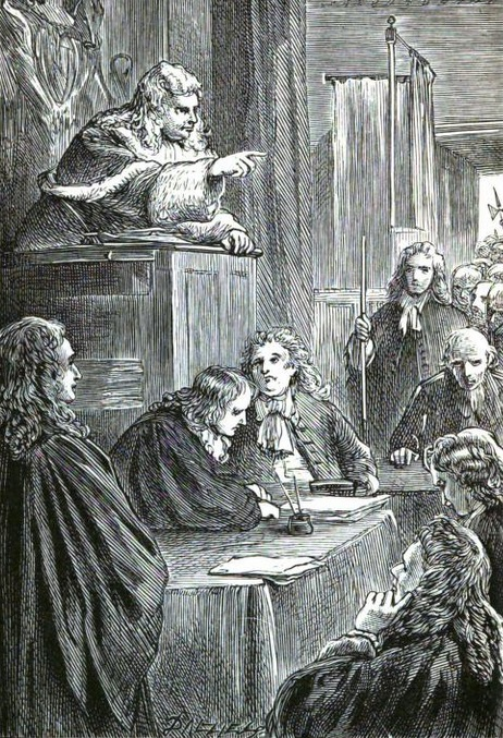 On This Day in 1689; Judge Jeffreys, who gave them enoughrope.
