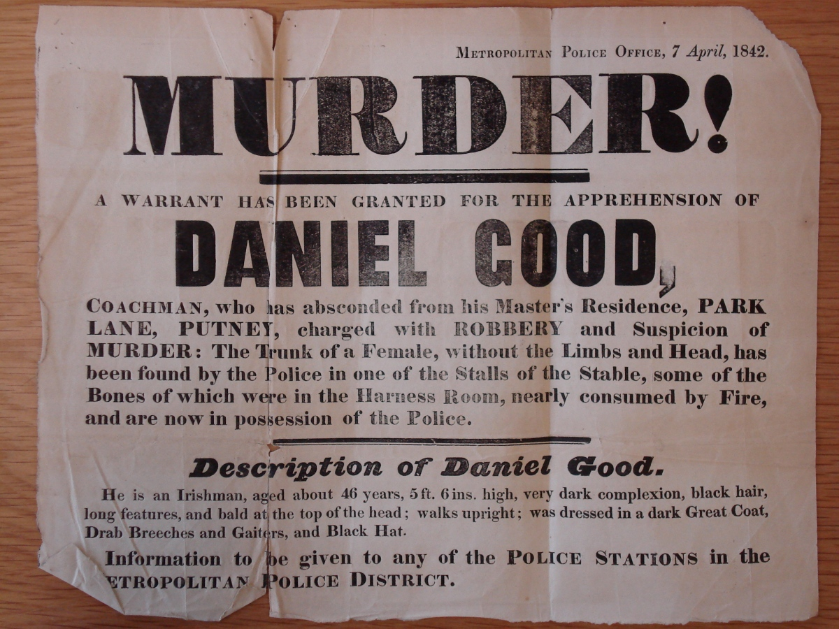 Watching the detectives: The arrest of the inappropriately named Daniel Good.