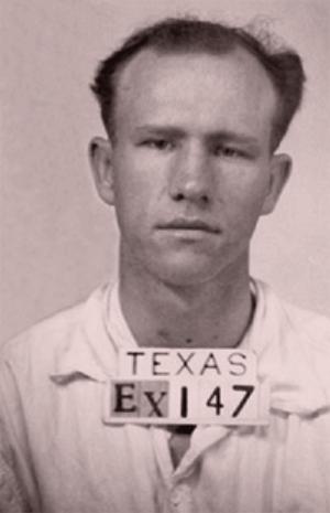 Raymond Elzie Hamilton, self-styled 'Gentleman Bandit.'
