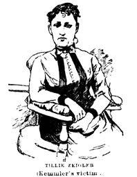 Matilda 'Tillie' Ziegler, Kemmler's girlfriend and victim.